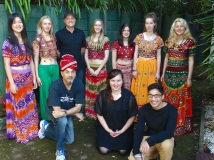 Some students who were part of an Indo Kiwi Concert that I put together to raise money for Kids Can